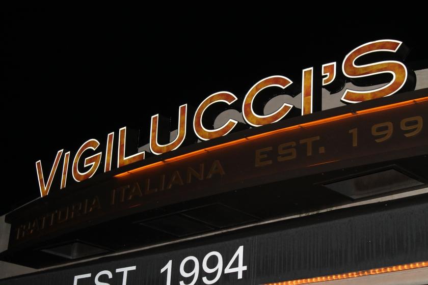 Vigilucci's sign