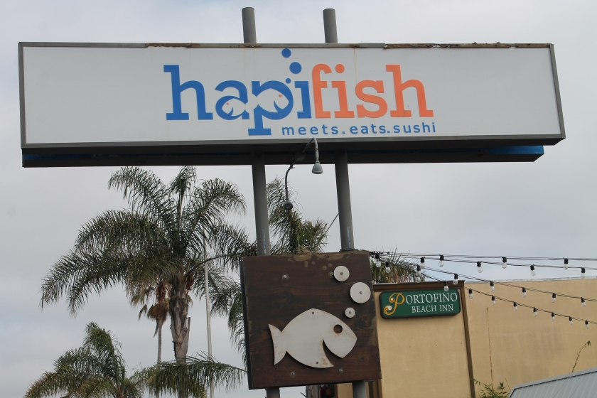 Hapifish sign