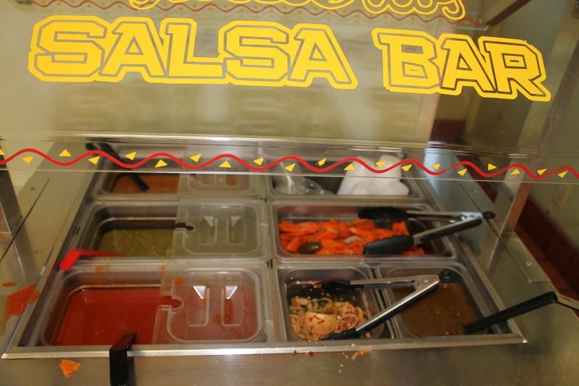 Filibertos salsa