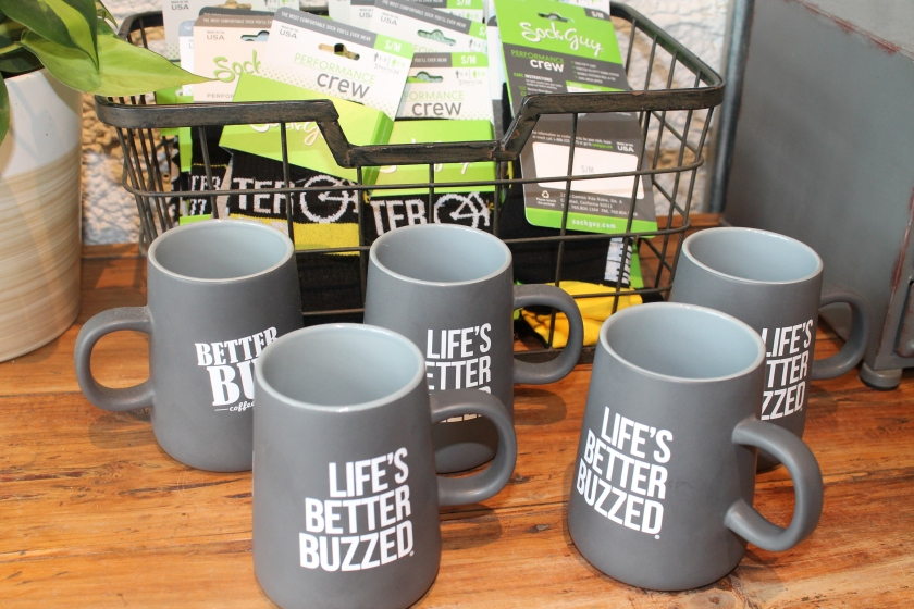 Better buzz cups and socks