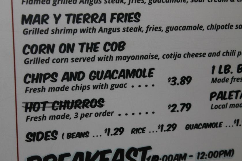 Taco Stand churro