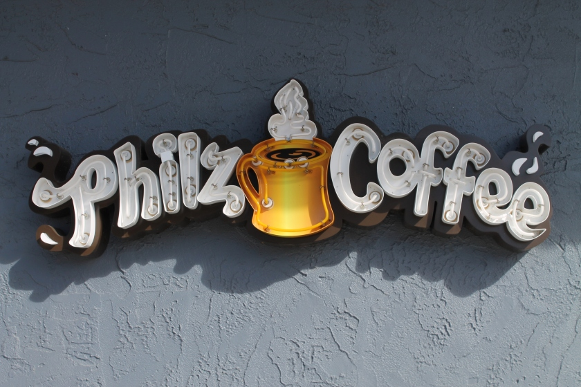 Philz sign