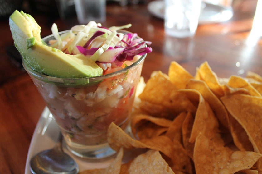 Tower ceviche