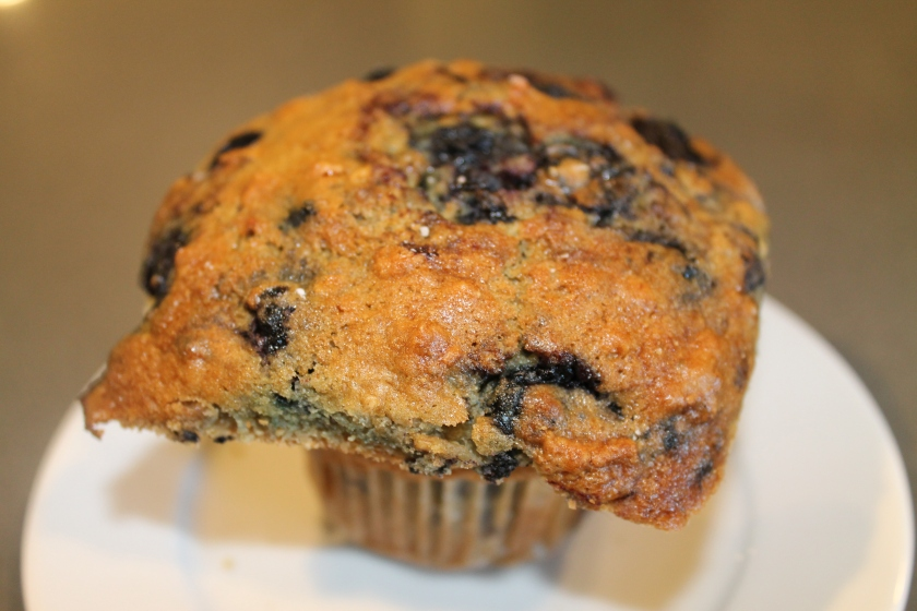 Ki's blueberry muffin