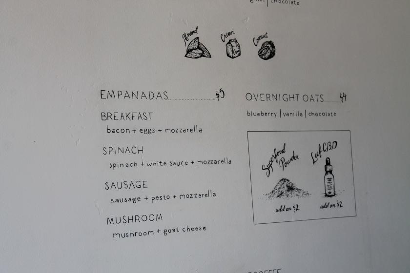 Bump menu