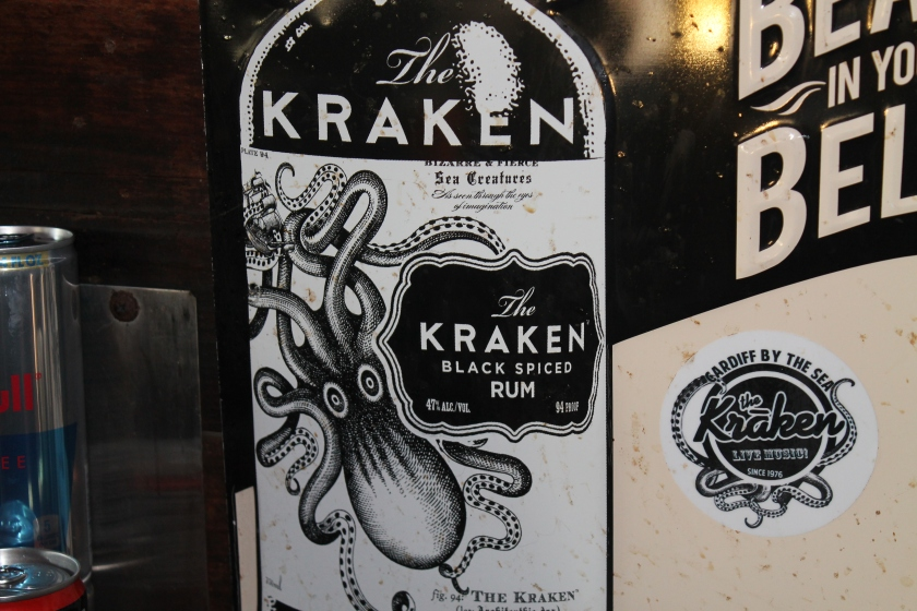 Kraken squid