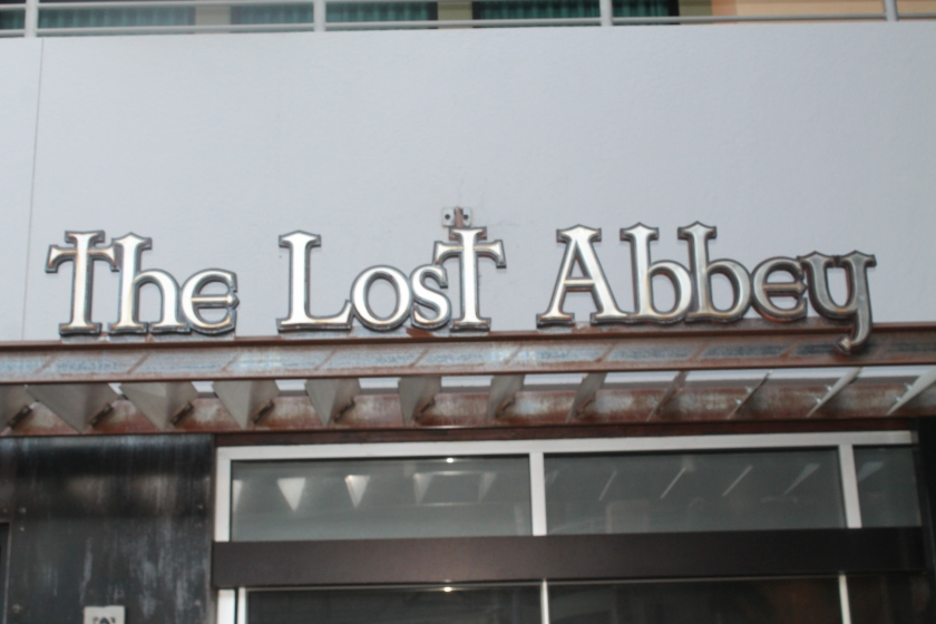 The Lost Abbey sign