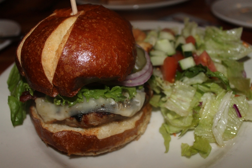 Lumberyard turkey burger