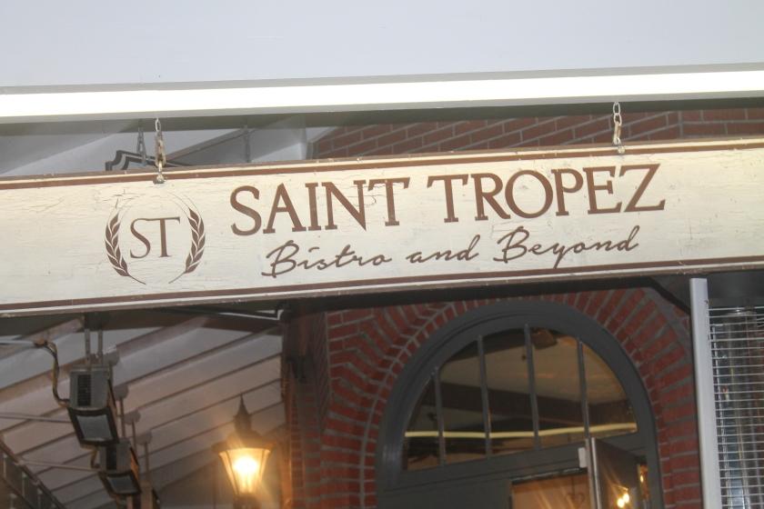 St. Trop sign