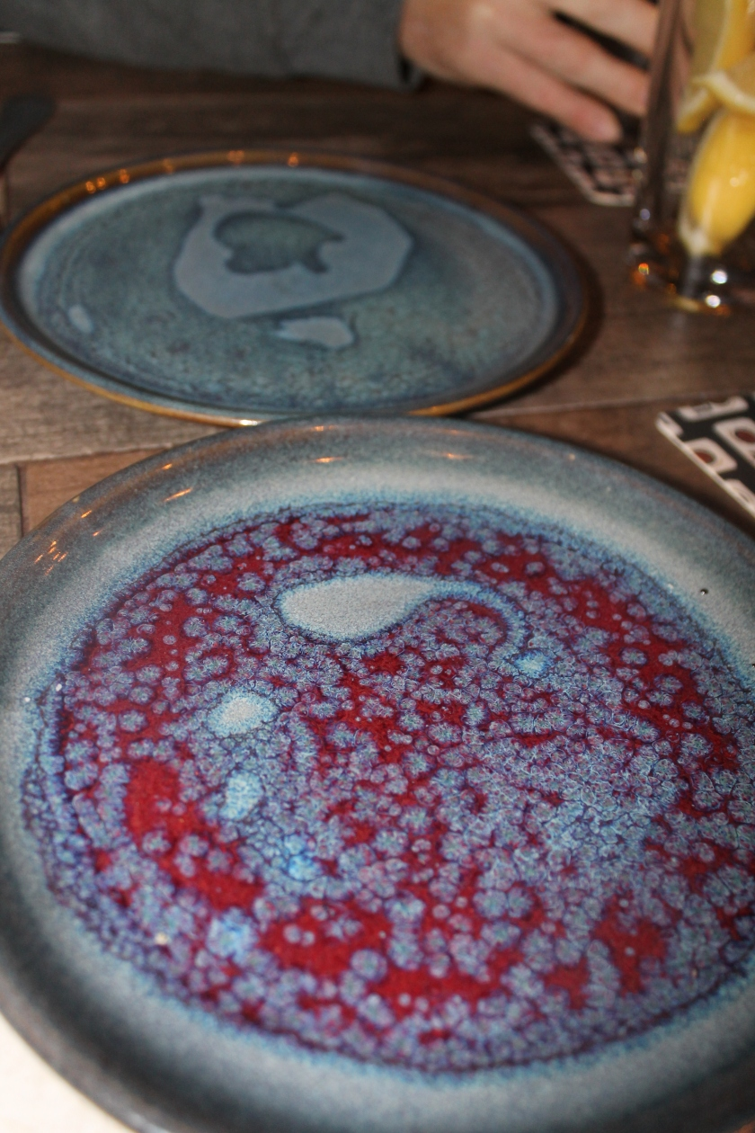 Biergarten pottery