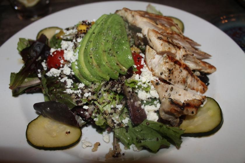 Biergarten quinoa salad