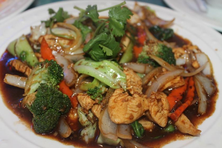 Kim's Chicken veg