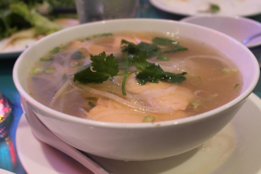 kim's salmon pho