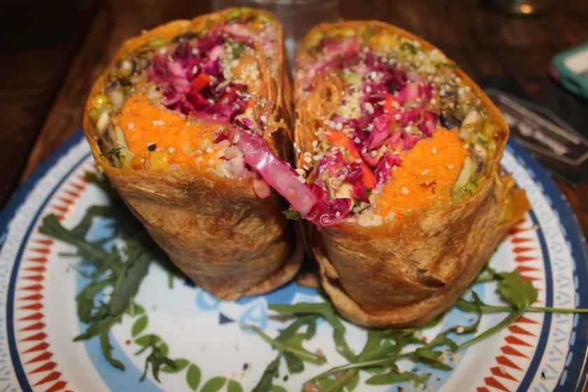 eve vegetarian burrito