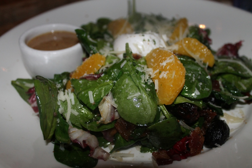 solace spinach salad