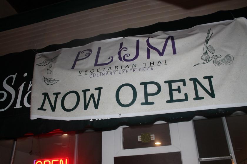 Plum sign