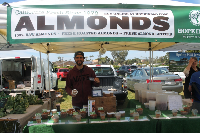 Farmers mkt almonds