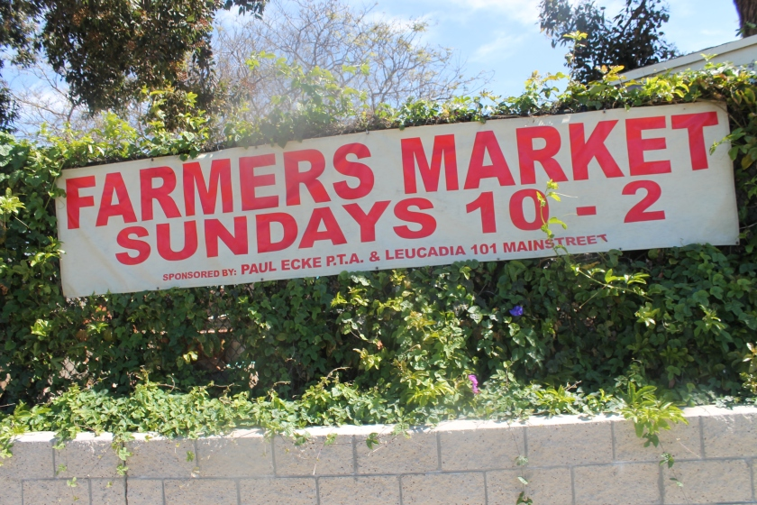 Farmers mkt sign