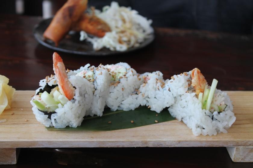 Umi tempura roll