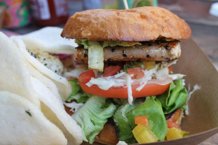Lanai fish sandwich