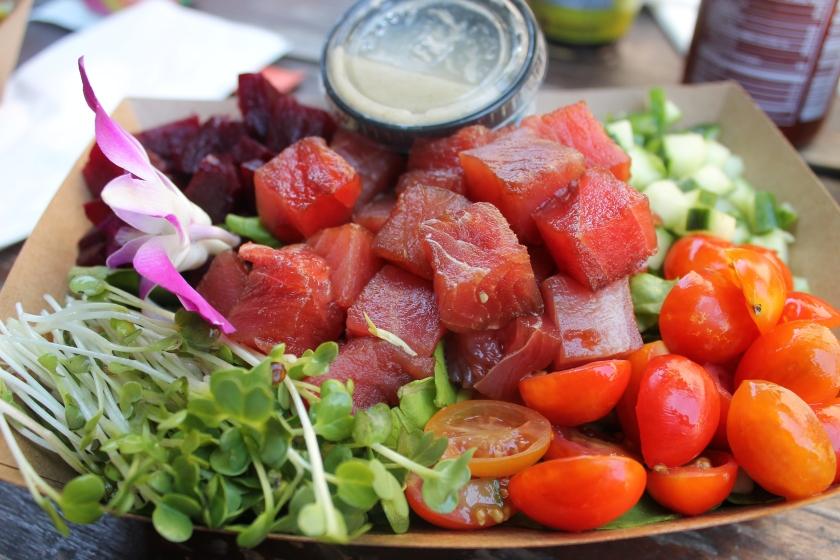 Lanai poke salad