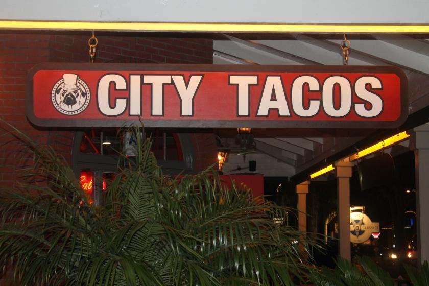 City Tacos sign