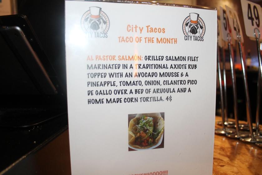City Tacos special